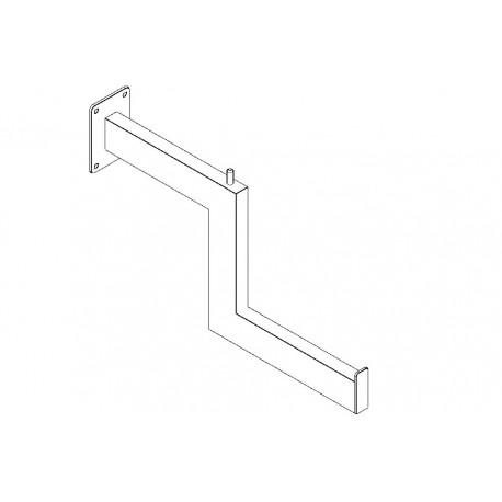 406 - Brazo escalonado rectangular